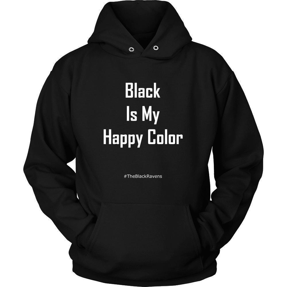 Favourite Colour Black Ravens Exclusive Hoodie - The Black Ravens