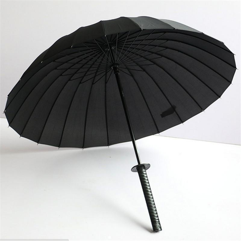 Full Size Samurai's Blade Umbrellas - The Black Ravens