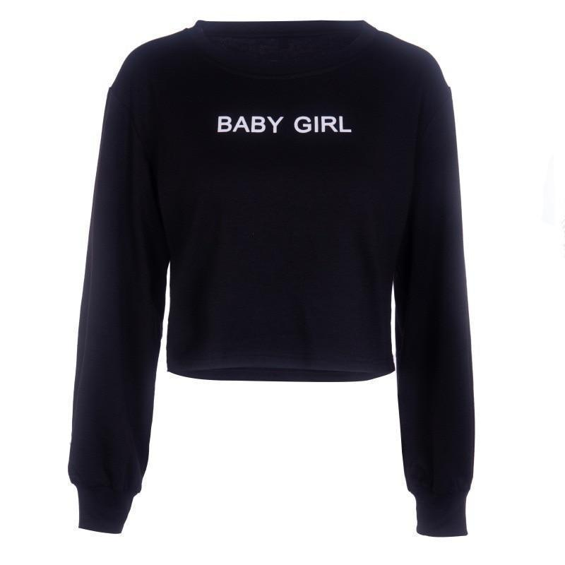 Gothic Baby Girl Sweat Shirt-M-
