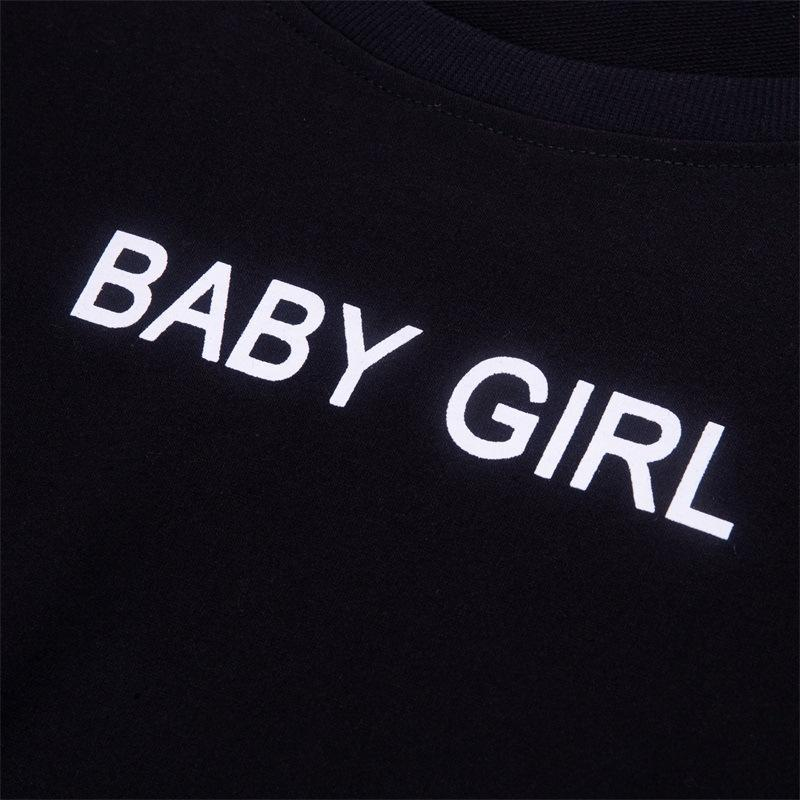 Gothic Baby Girl Sweat Shirt - The Black Ravens