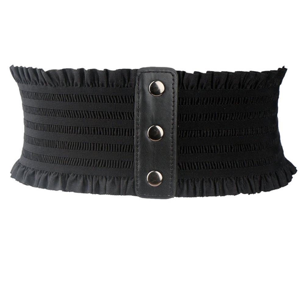 Gothic Lace Up Elastic Cummerbund - The Black Ravens