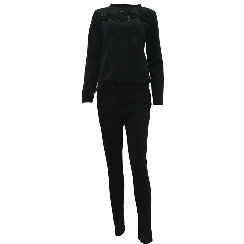 Gothic Ladies' Tracksuit Set - The Black Ravens