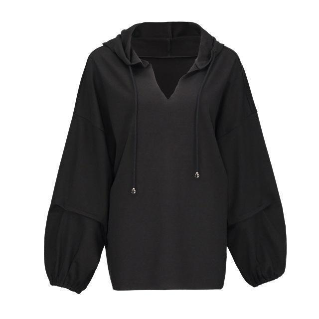Gothic Plus Size Casual Hoodie Streetwear-M-