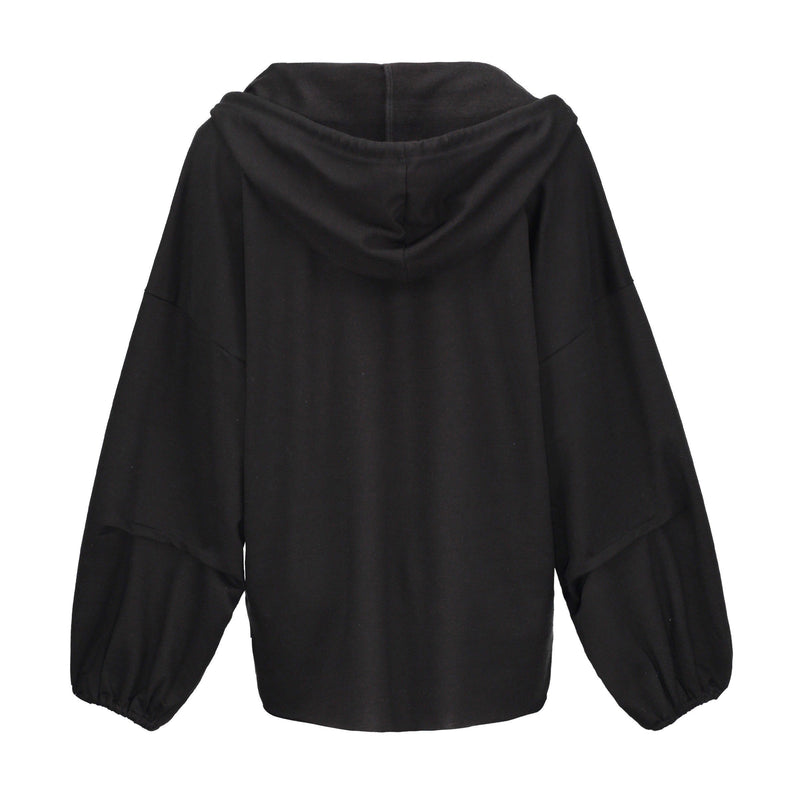 Gothic Plus Size Casual Hoodie Streetwear-S-