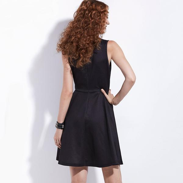 Hot Celestial Dresses For Women-Black-S-