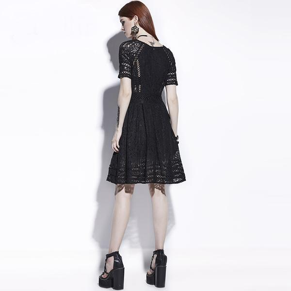 Hot Dark Lacey Dresses For Women - The Black Ravens