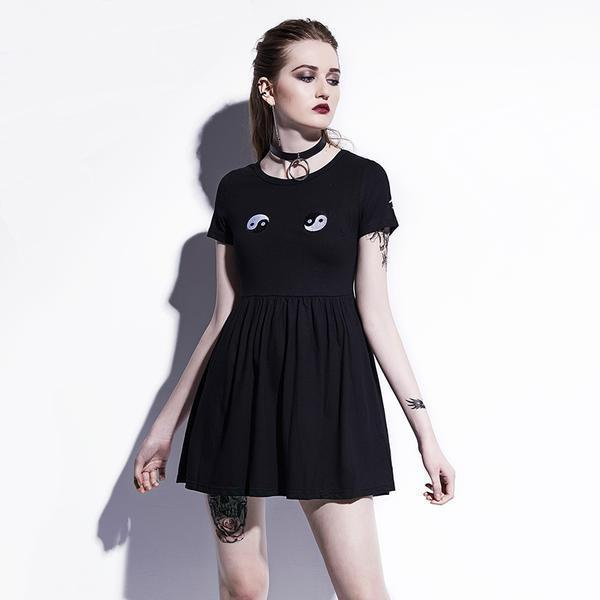 Hot Girls Good and Evil Gothic Dresses - The Black Ravens