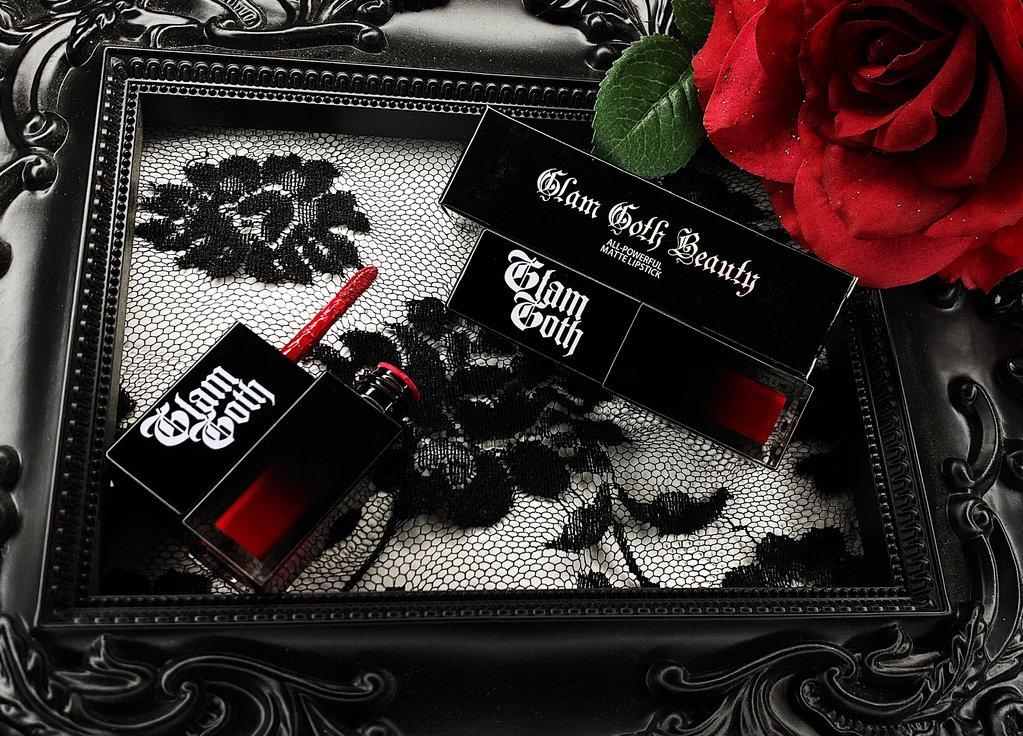 Glam Goth Beauty Lipstick Bloodrose - The Black Ravens