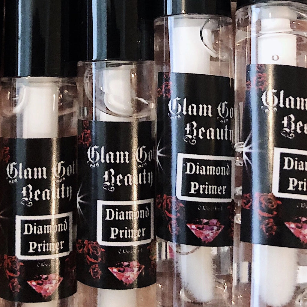 Glam Goth Beauty Glitter Diamond Primer - The Black Ravens