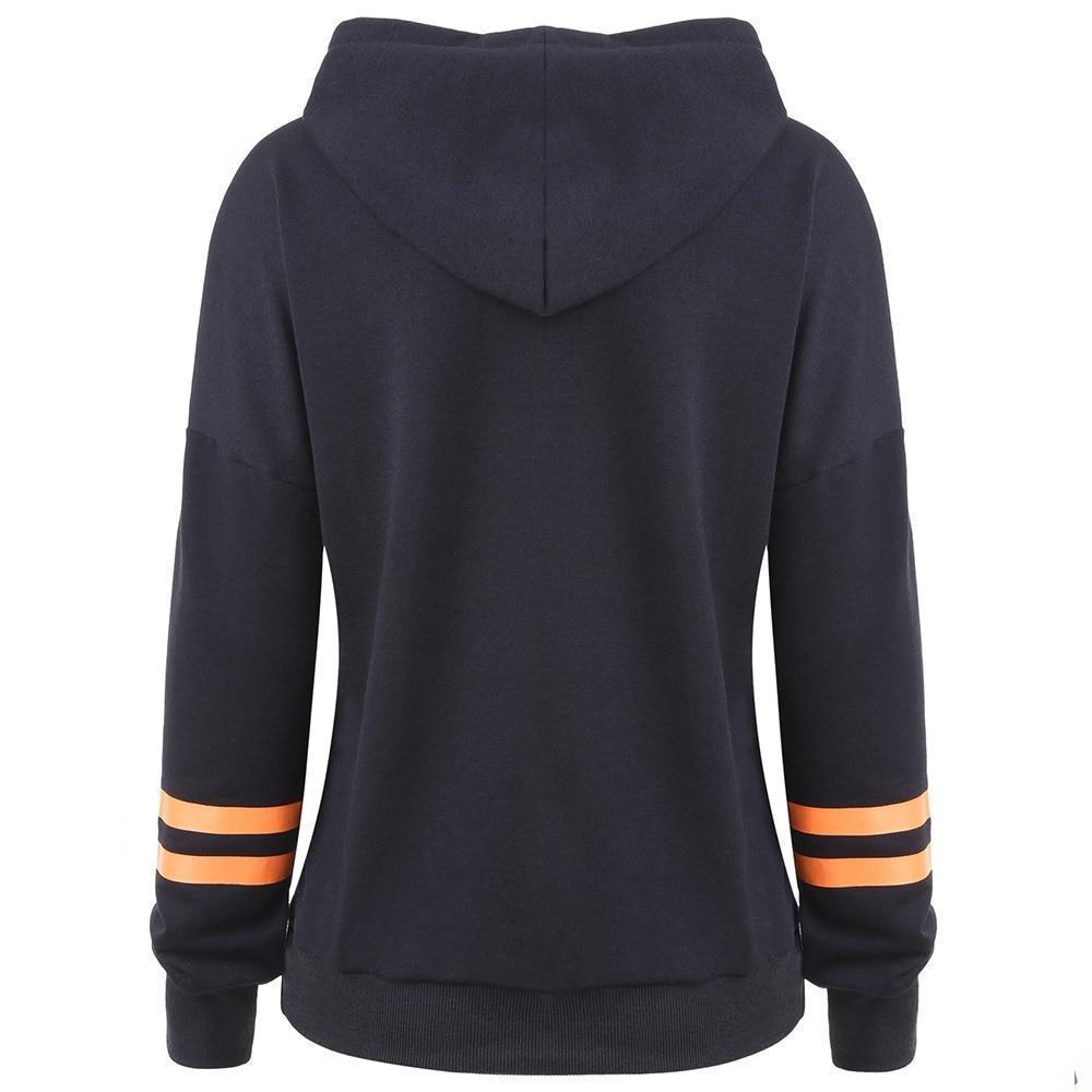 Jack-o-lantern Ladies' Hoodie - The Black Ravens