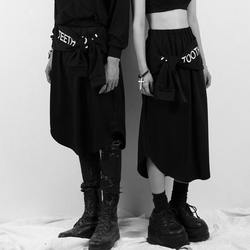 Japanese Punk Hip Hop Skirts-L-