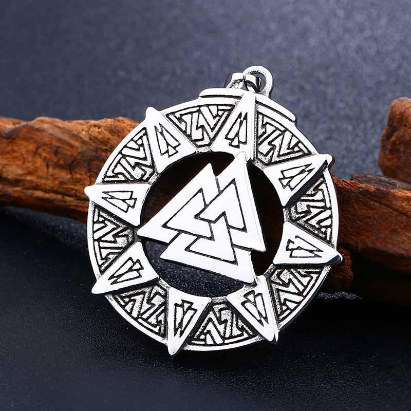 Kickass Norse God Amulet Chain - The Black Ravens