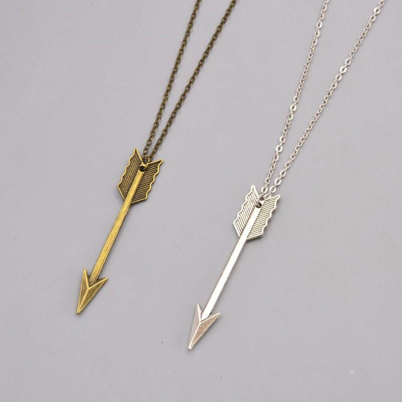 Ladies Bronze Arrows Pendants-Bronze-