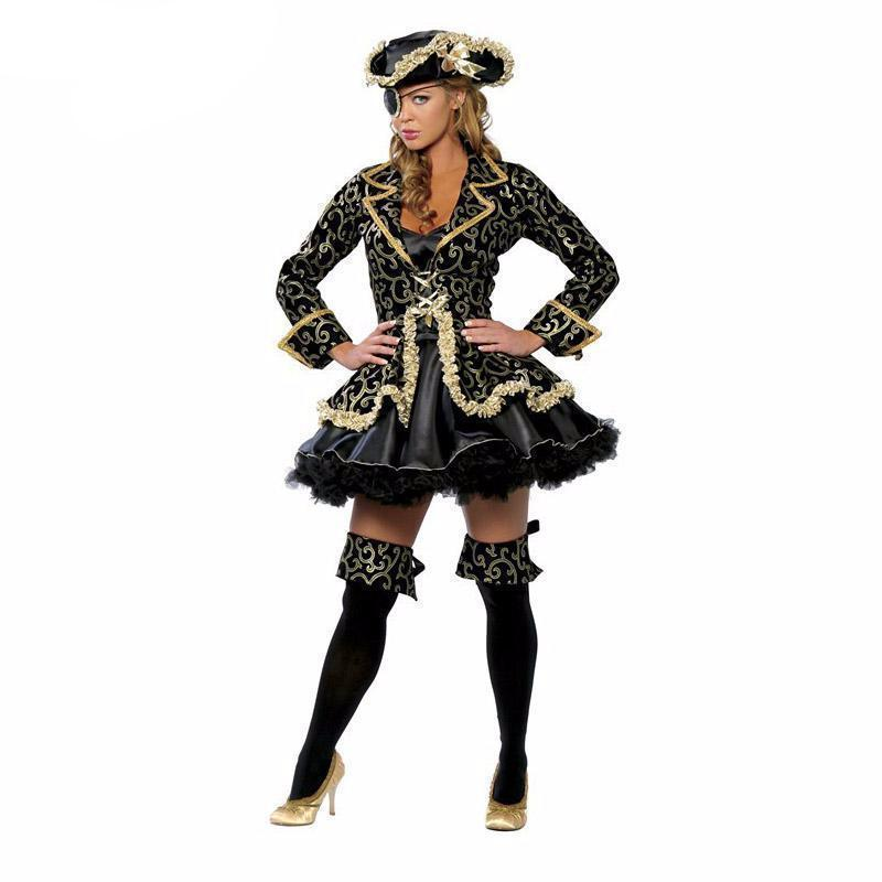 Ladies Cute Blackbeard Outfit-M-