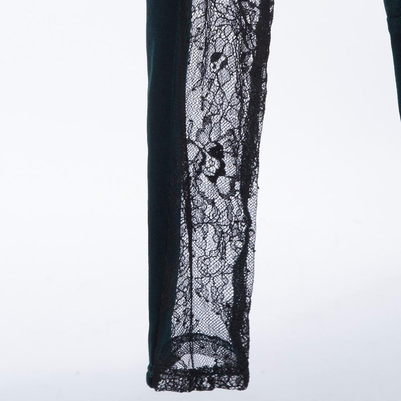 Ladies' See Through Vintage Bodycon - The Black Ravens