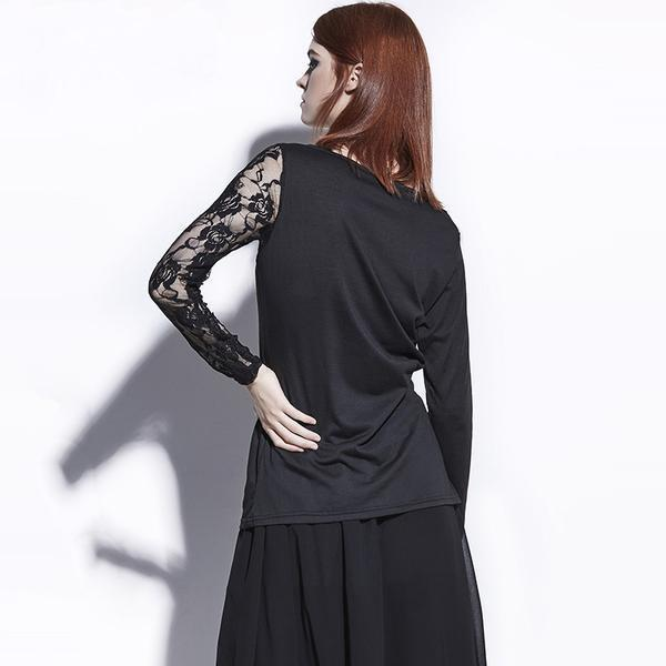 Lovely Cute Short Gothic Shirts - The Black Ravens