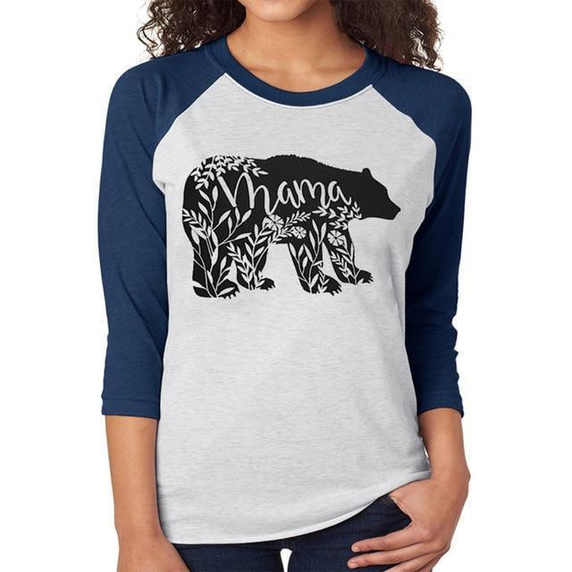 Mama Bear Simple Women's Tee - The Black Ravens