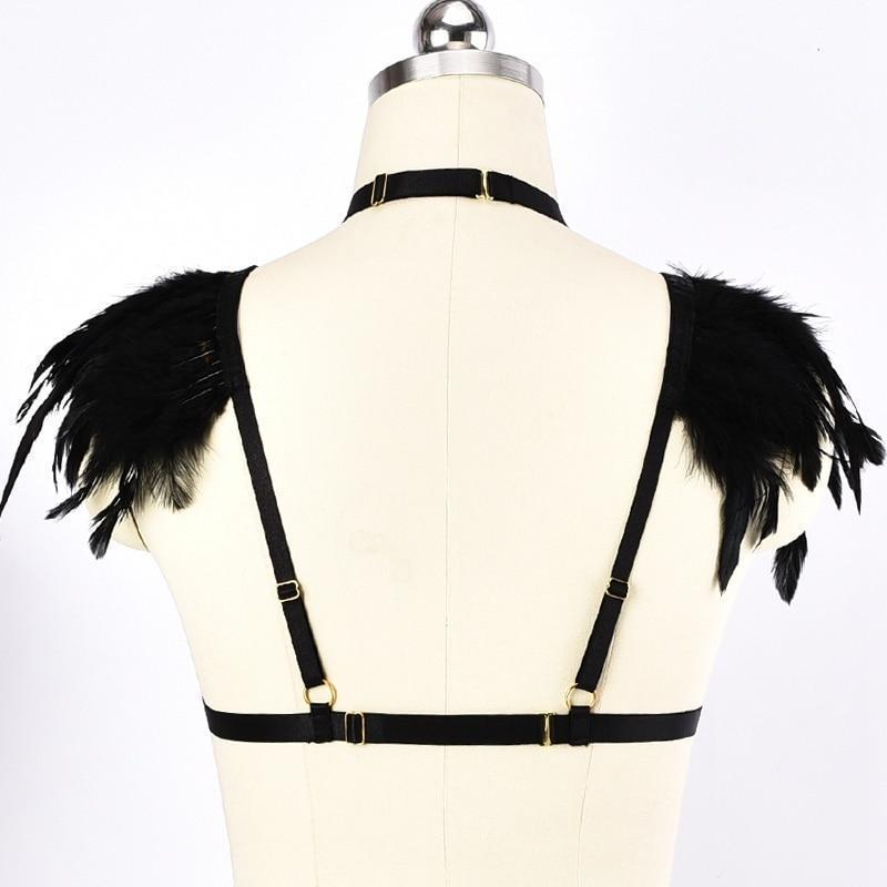 Metal Rings Ladies' Chest Cage - The Black Ravens