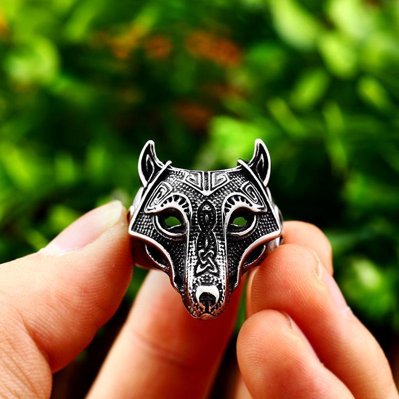 Norse Viking Wolf Rings-7-