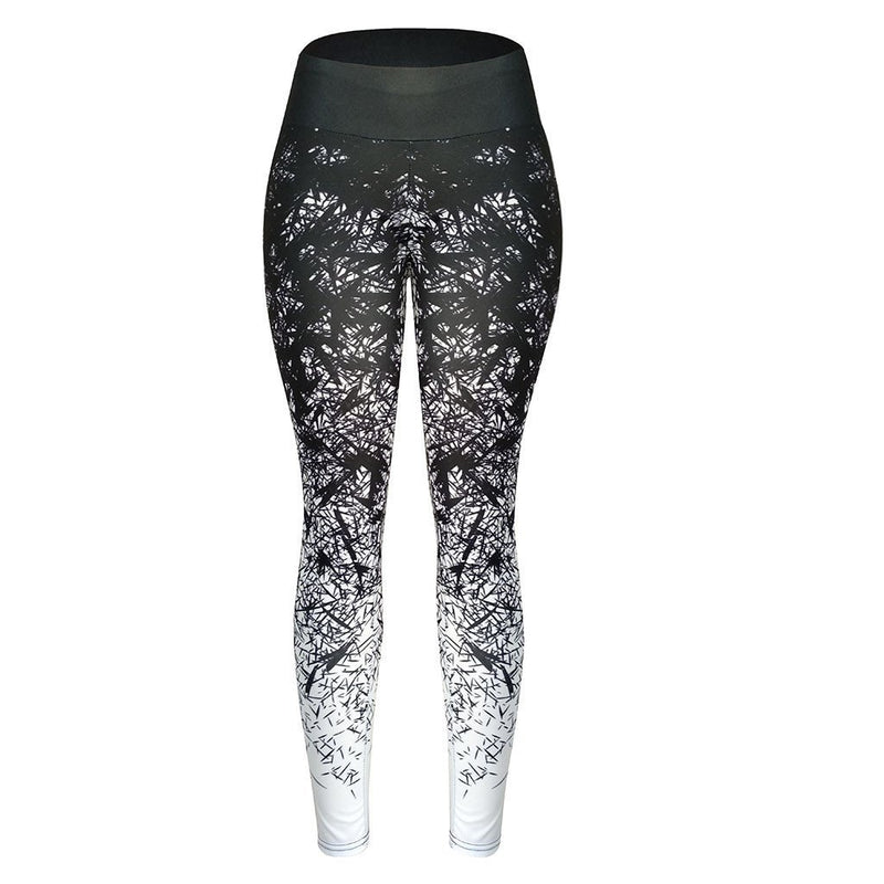 Leggings For Women Fitness Casual High Waist Legging Fashion Tummy Control Slimming Booty Leggings Lift Legins Gothic Лосины#JY - The Black Ravens