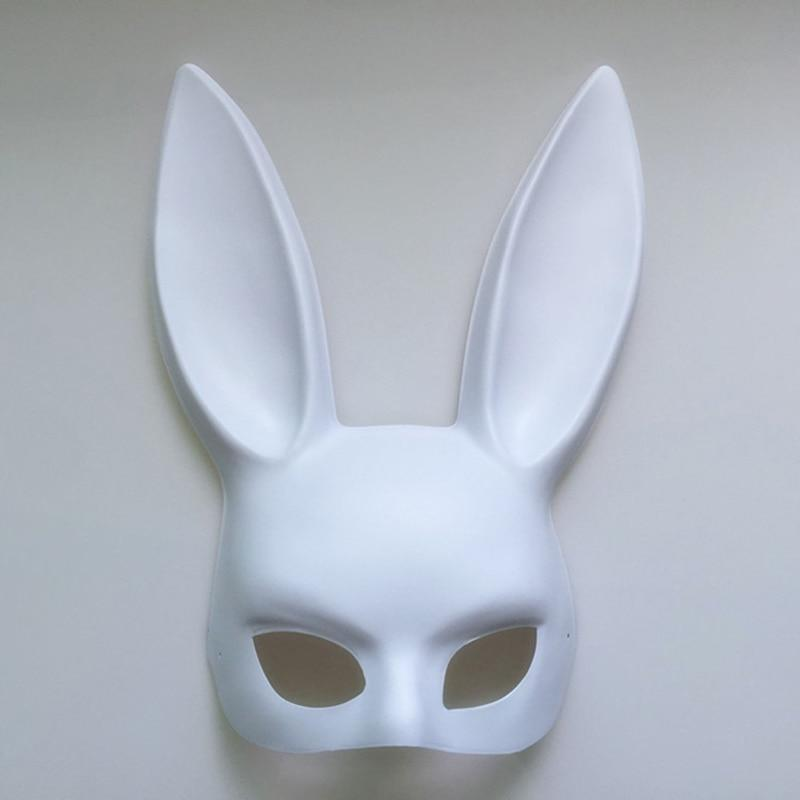 Sexy Rabbit Ears Mask Bunny Long Ears Bondage Mask Halloween Masquerade Party Cosplay Costume Props Girl Mark - The Black Ravens