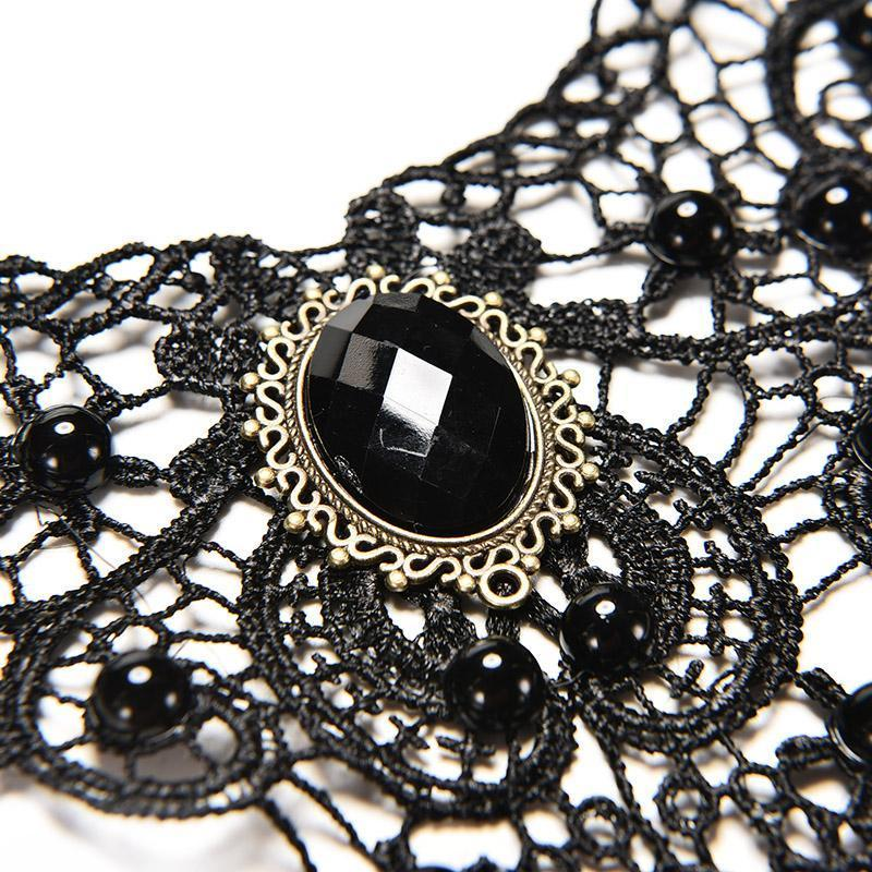 New Fashion Necklaces For Women Retro Vintage Lace Necklace Collar Choker Necklace Gothic Jewelry Statemnet Collares - The Black Ravens