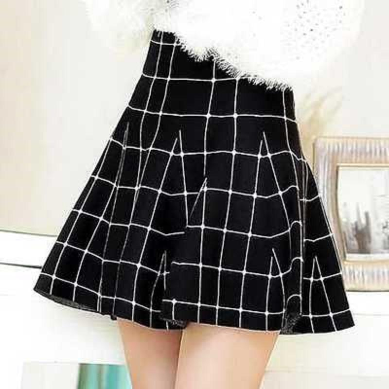 Punk Ladies Pleated Mini Skirts - The Black Ravens