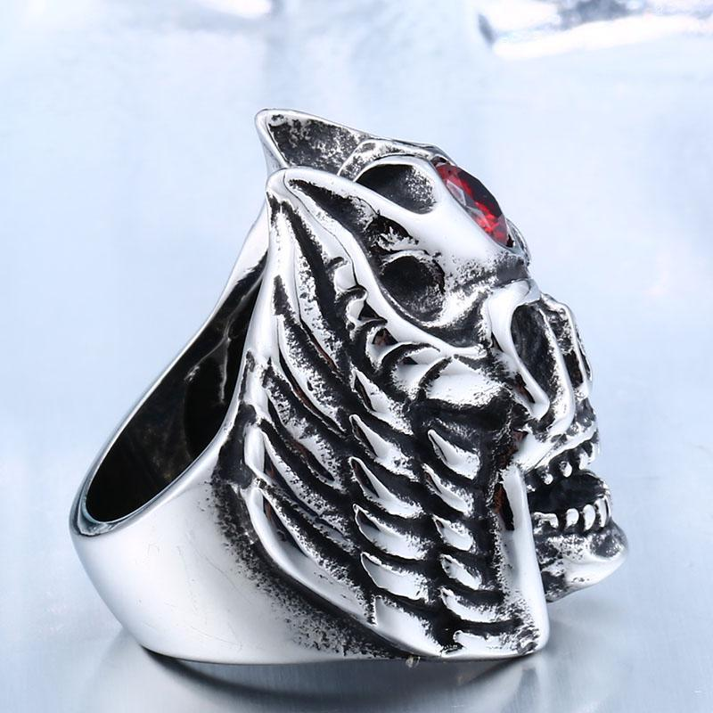 Red Third Eye Skull Rings-7-