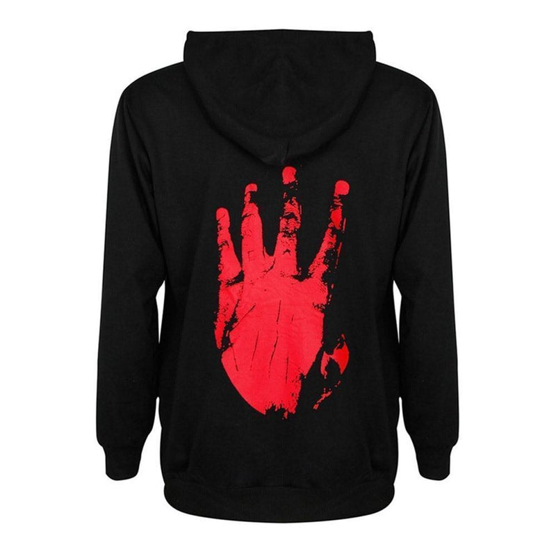 Revenge Ladies' Gothic Hoodie - The Black Ravens