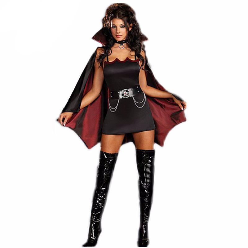 Scary And Hot Girls Dracula Dress Up-