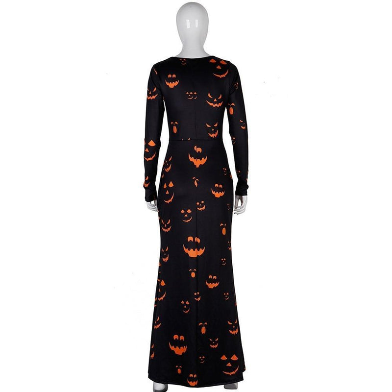 Scary Pumpkin Ladies' Sexy Halloween Dress - The Black Ravens
