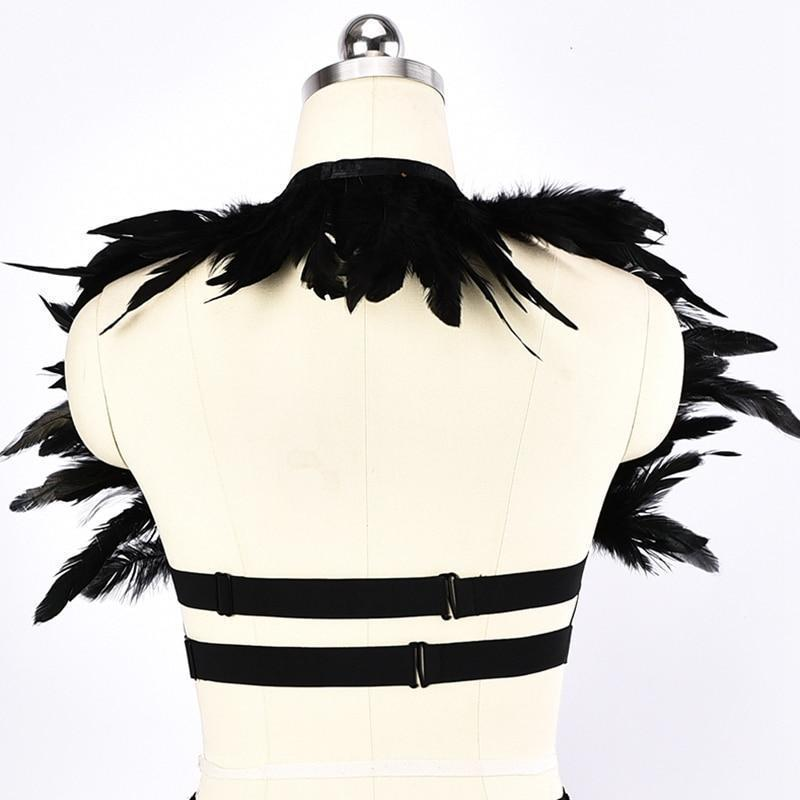 Sexy Bust Elastic Garter - The Black Ravens