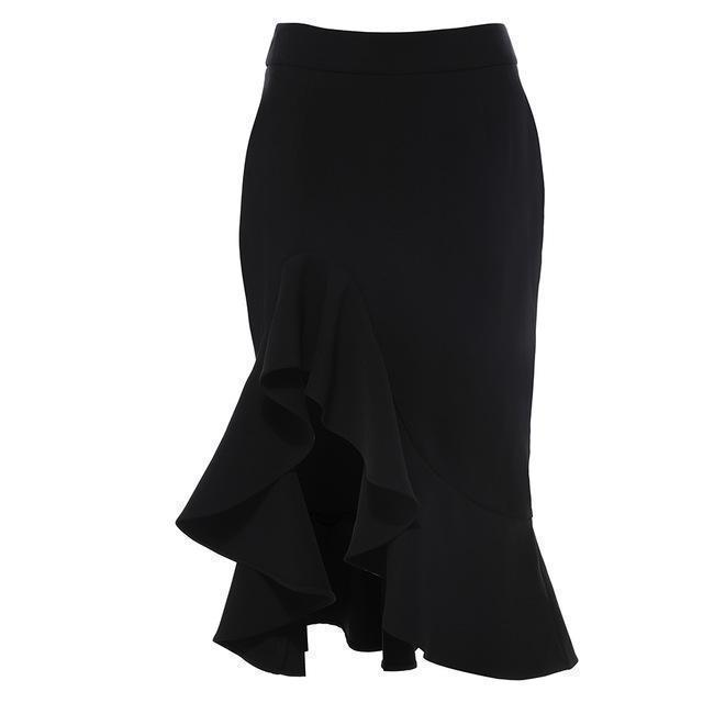 Sexy Casual Office Style Gothic Skirts - The Black Ravens