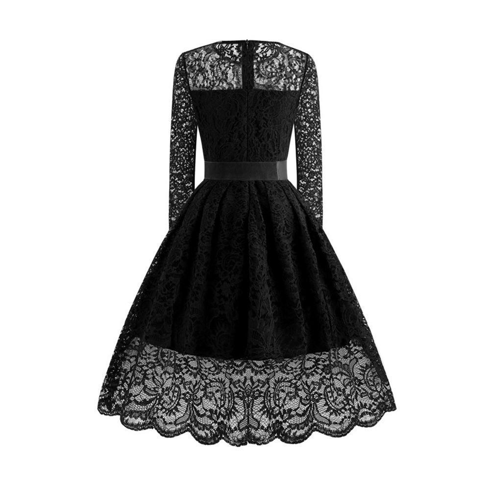 Sexy Lace Black Vintage Dress - The Black Ravens