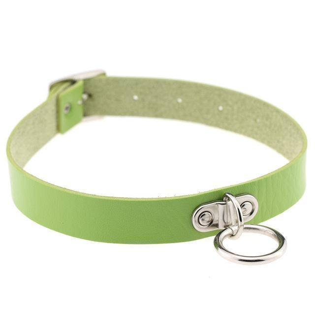 Sexy Ladies Goth Chokers-Green-