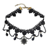 Sexy Ladies Lacey Choke Necklace - Multiple Designs Available-2-