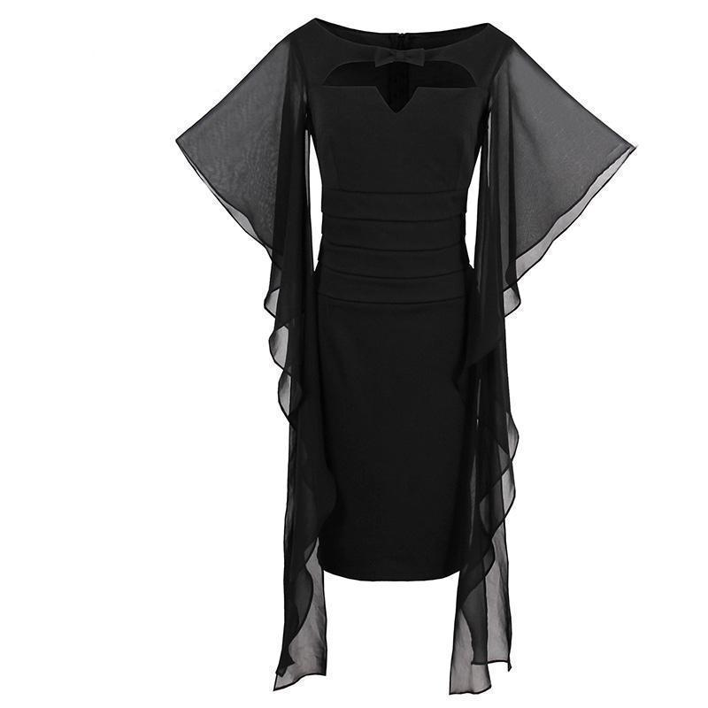 Sexy Long Bodycon Witches Style Dresses - The Black Ravens