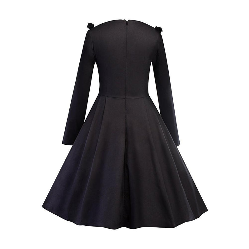 Sexy Vintage Style Gothic Dress - The Black Ravens