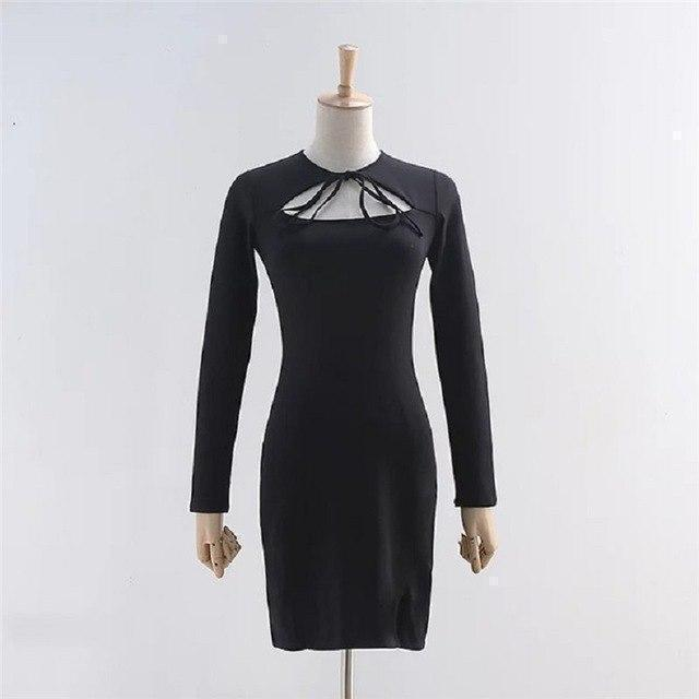 Sexy Witch Full Sleeve Dress - The Black Ravens