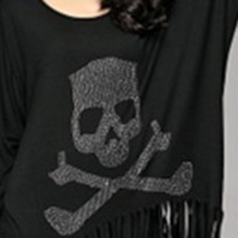 Skeleton Toxic Ladies' Gothic Pullover - The Black Ravens