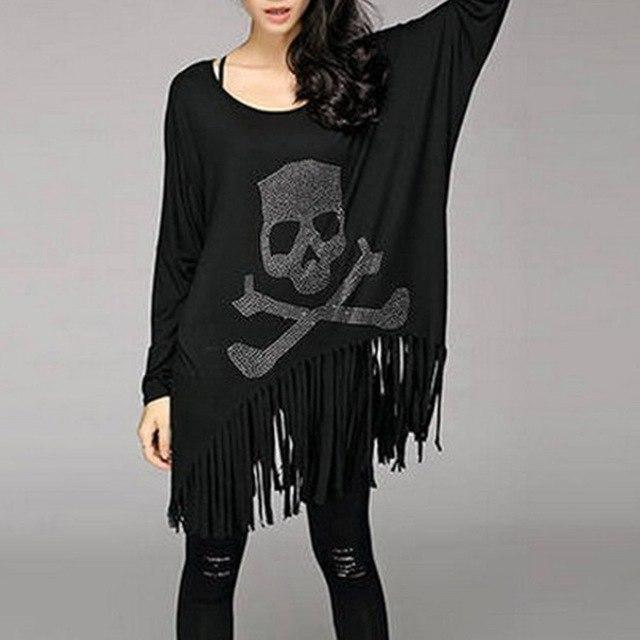 Skeleton Toxic Ladies' Gothic Pullover-