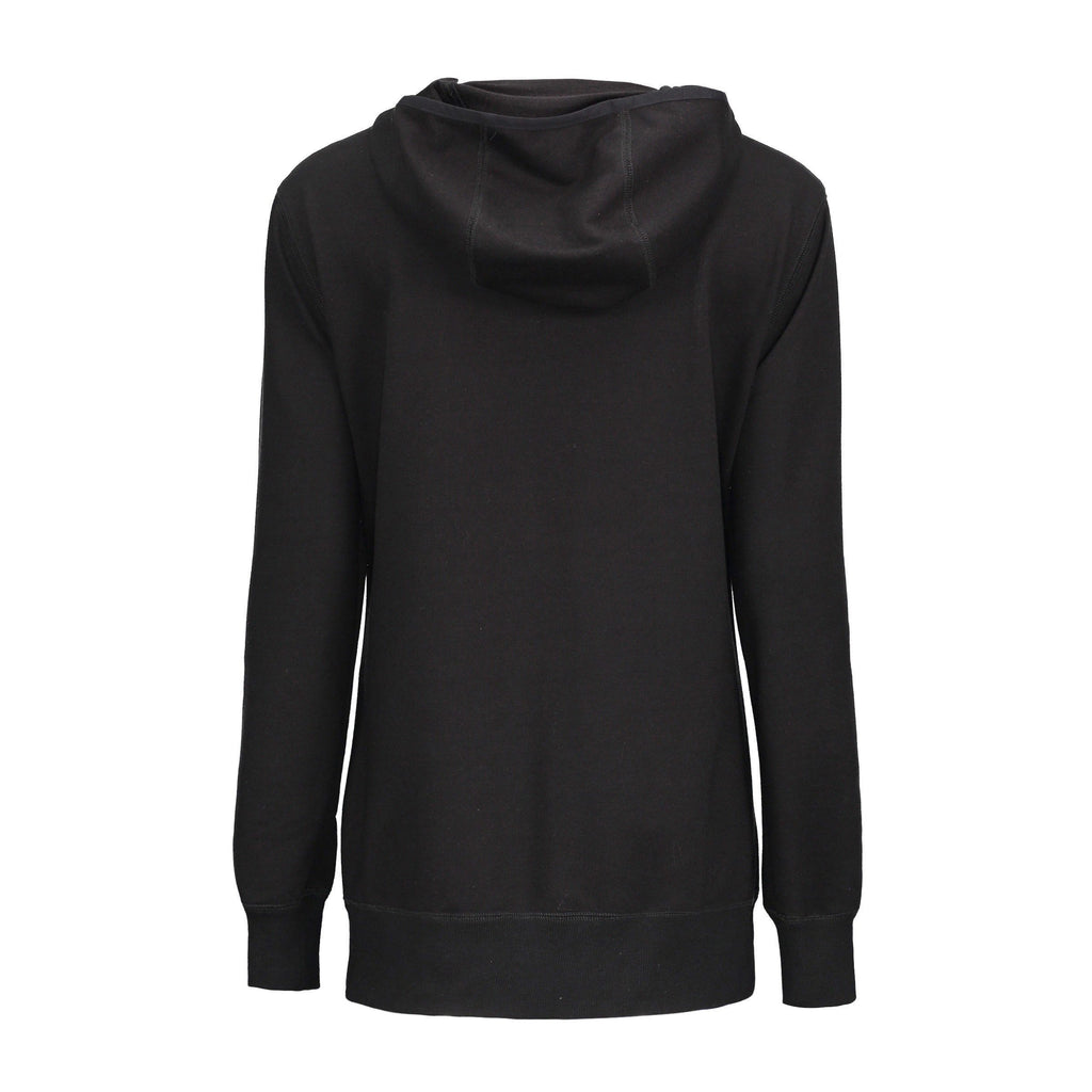 Slim Hooded Ladies' Gothic SweatShirt - The Black Ravens