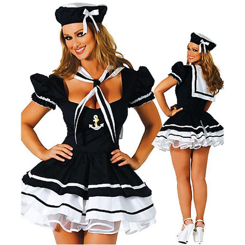 Stunning Sailors Fancy Dress - The Black Ravens
