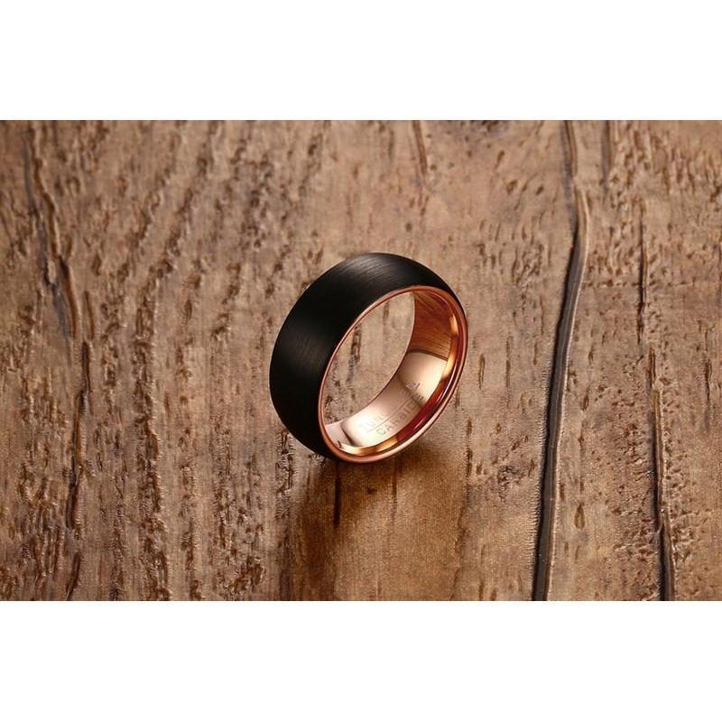 Stunning Unisex Genuine Tungsten Damage Resistant Rings - The Black Ravens