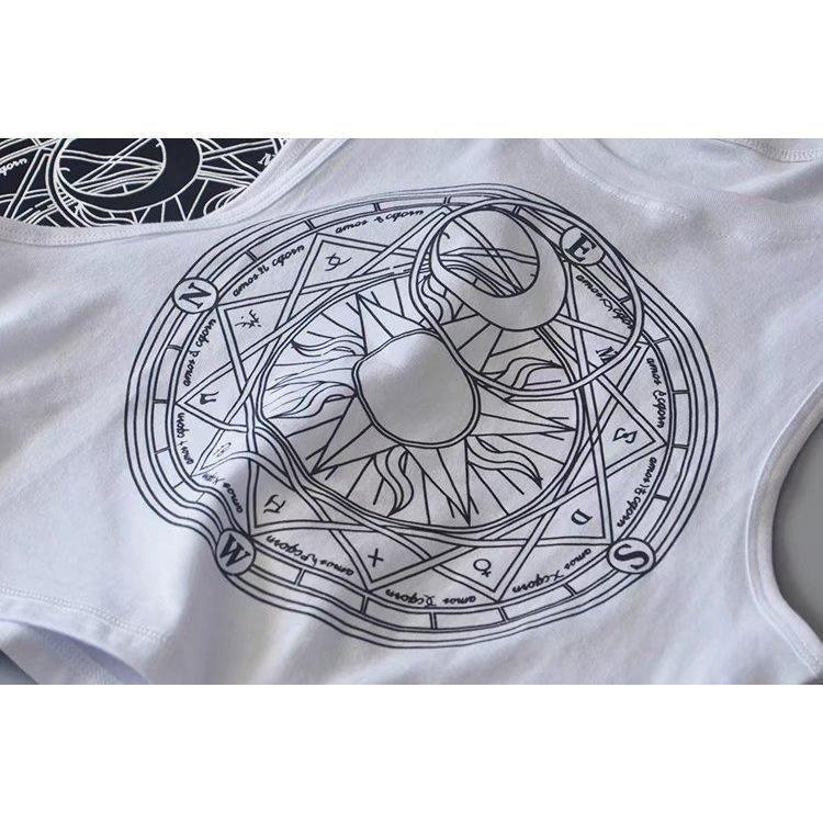 Sun Moon Pentagram Ladies Cami - The Black Ravens