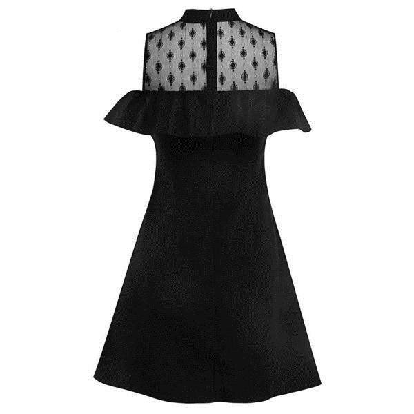 Sweet Gothic Sheath Bust Bodycon - The Black Ravens
