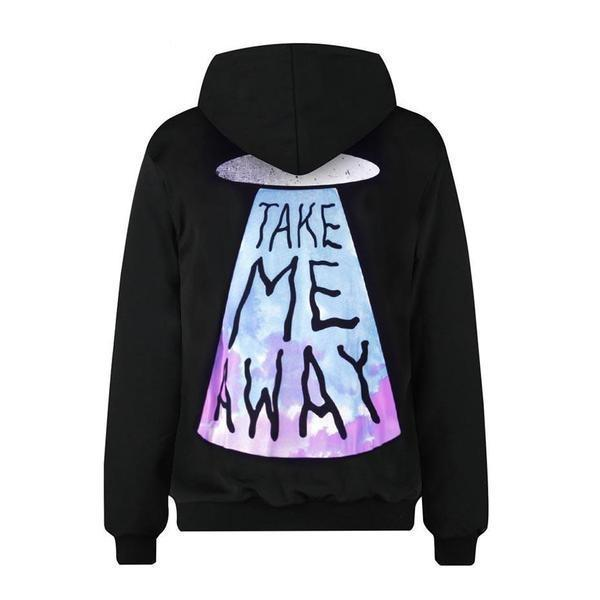 Take Me Away Ladies' Hoodie - The Black Ravens