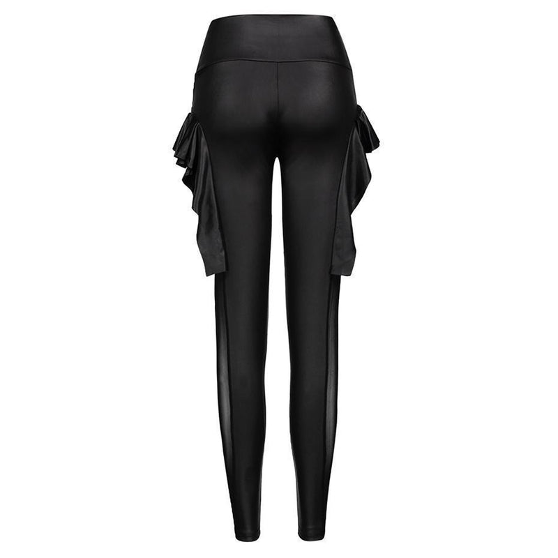 Tight Ladies Dark Goth Leggings - The Black Ravens
