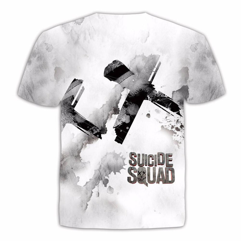 Unisex Harley And Her Puddin Shirts-Suicide Squad-L-