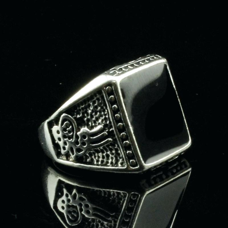 Wicked Large Rocker Rings For Women - The Black Ravens